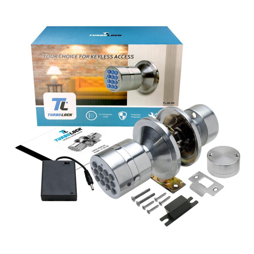 Turbolock Digital Door Lock Image 1