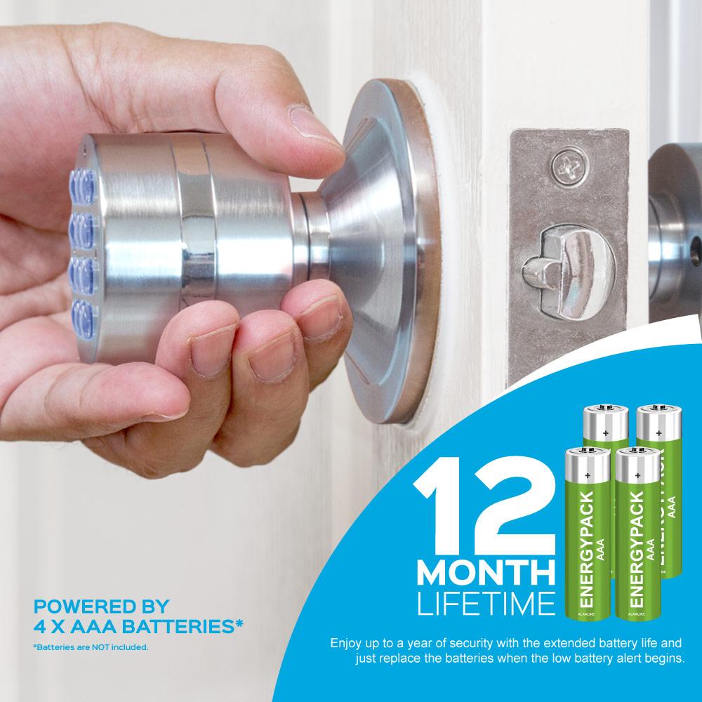 Turbolock Digital Door Lock 12 month lifetime