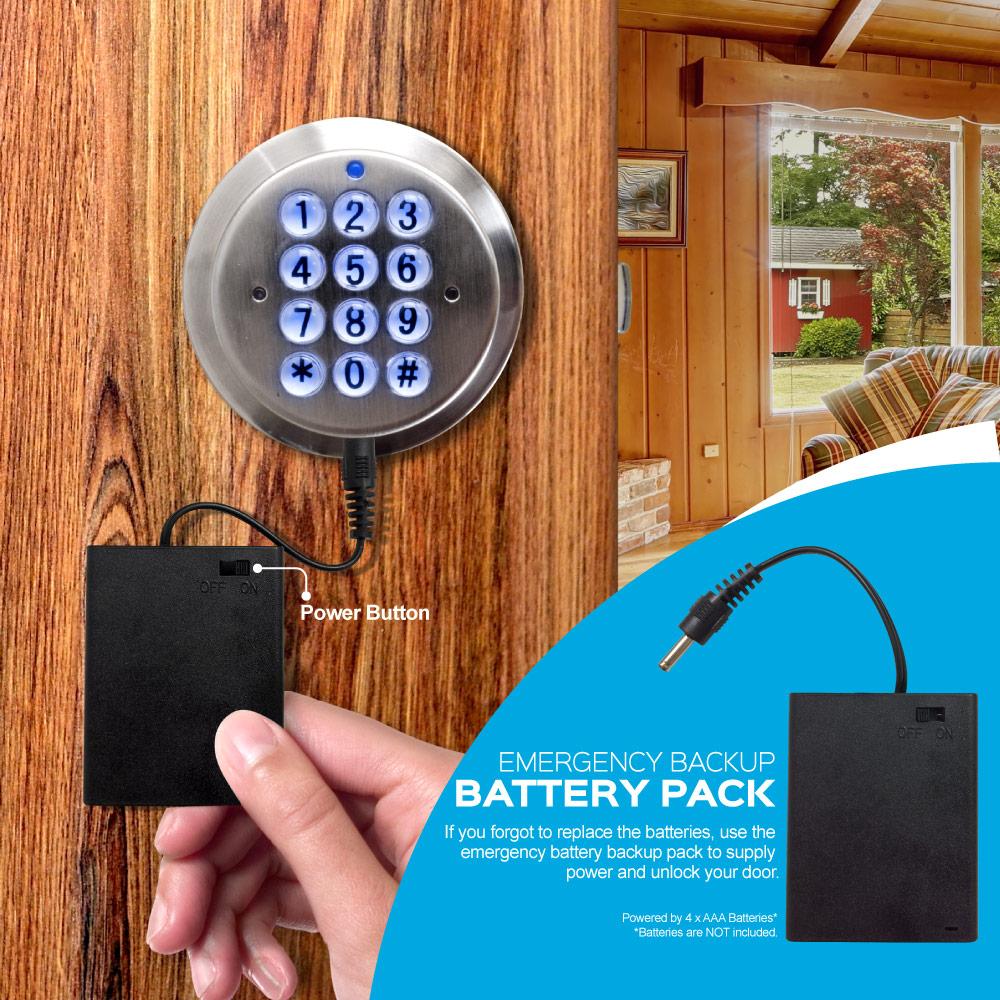 Turbolock Digital Door Lock Battery Pack