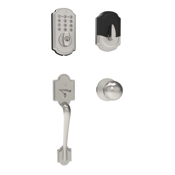 Smart Door Lockset Combo — Bluetooth Deadbolt with Keypad + App + TL115+TL121