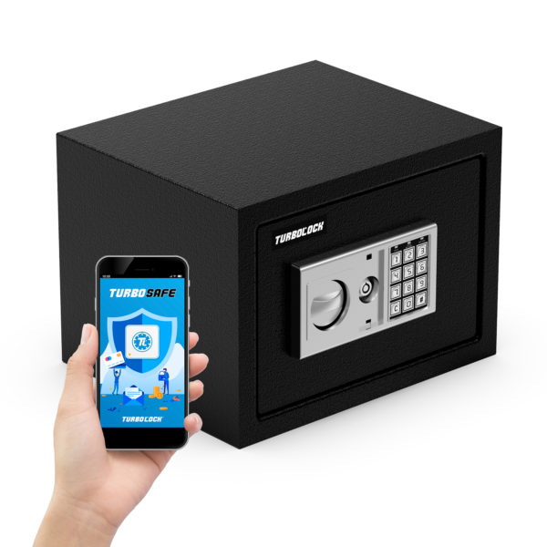 TurboSAFE WiFi Smart Safe with Monitoring App & Tamper Alerts 1