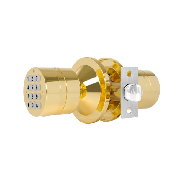 TurboLock YL-99-PB Digital Door Lock, Brass 5