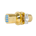 TurboLock YL-99-PB Digital Door Lock, Brass 4